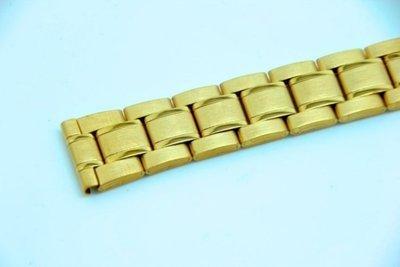 20mm金色~sea master 海馬風格不鏽鋼錶帶,非烤漆,seiko, citizen, nixon