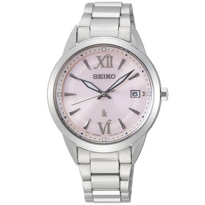 可議價.「1958 鐘錶城」SEIKO精工錶 LUKIA 簡約時尚太陽能 女錶(SUT389J1)/33.9mm