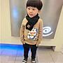【小阿霏】兒童圍巾 男童 女童貼標純色毛線領巾 出口韓國精緻韓版保暖圍巾 秋冬新品 AC64