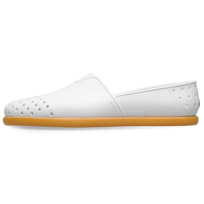 [CABAS滑板店] NATIVE VERONA SHELL WHITE/GUM RUBBER