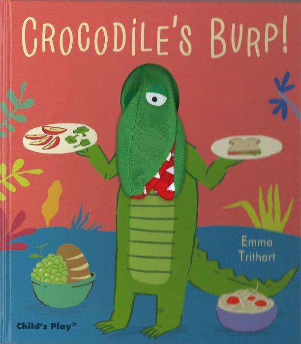 *小貝比的家*CROCODILE'S BURP /精裝/3~6歲/手偶書