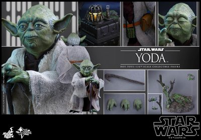 hottoys hot toys star wars 星球大戰 Yoda 尤達 MMS369 雙頭雕 Anakin luke skywalker