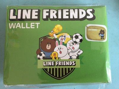 【陽陽小舖】全新@收藏 紀念款 LINE FRIENDS 零錢包(熊大)