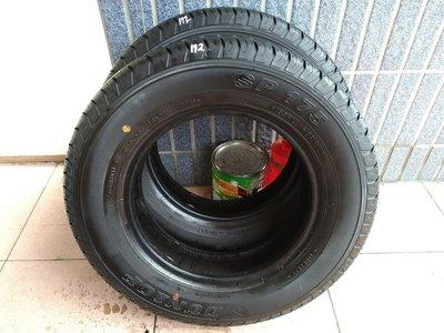 155R13 16年製 日本製造登祿普貨車專用胎 發財車 貨車 中古 二手 落地 胎 輪胎 一條800元