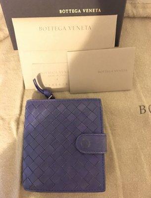 Bottega Veneta 經典編織短夾 《二手商品 保證真品》