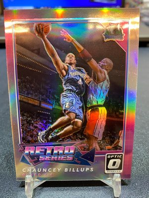 2017-18 Donruss Optic Retro Series Holo Chauncey Billups