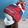☆[Hankaro]☆ 冬季保暖系列商品無線藍牙NY針織毛帽~(合併批發另洽)