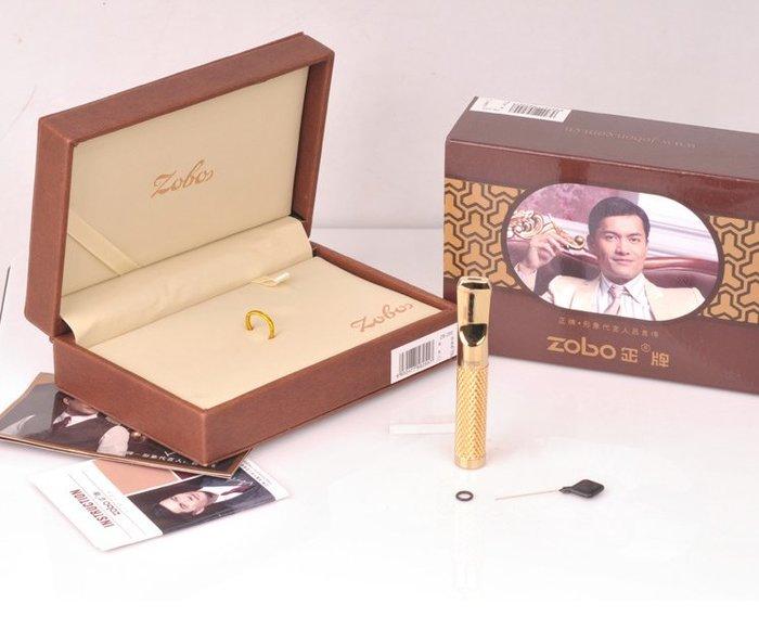 【Triple6】ZOBO正牌 ZB-255 全金屬拉桿濾嘴 循環重複使用 煙嘴 菸嘴 濾嘴 精美禮盒裝