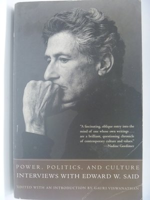 【月界二手書店】Power, Politics, and Culture_Edward W. Said 〖社會〗CGS