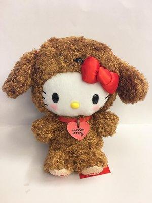 ^燕子部屋 ^三麗鷗正版【Hello Kitty】毛絨娃娃-愛心