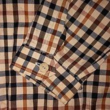 二手專櫃 DAKS 經典格紋拉鍊夾克薄外套 5號 台灣製
