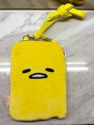 尼德斯Nydus~* 日本正版 蛋黃哥 零錢包 手機殼 手機包 5吋手機通用款 iPhone 6/6S