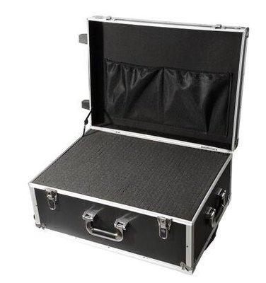 【優上】五金工具拉桿箱大號維修工具箱鋁合金箱加厚航空箱帶輪家具安裝箱「箱子+格子海綿」