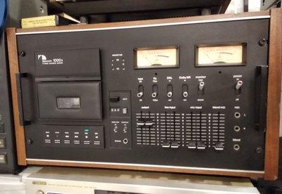 NAKAMICHI 1000 II Professional cassette recorder 日本[中道 ]專業級卡式帶錄音座,七成半新,機件操作完美。