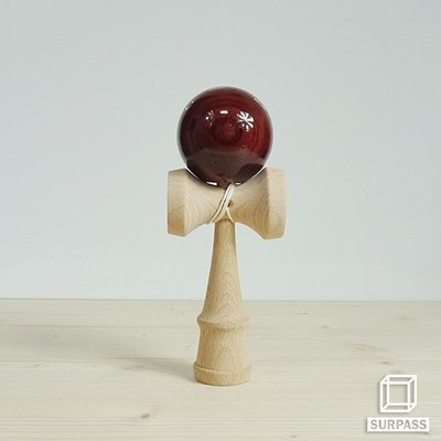 『Surpass』木質劍玉劍球 Wood ball 木紋球系列 酒紅木紋
