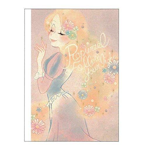 迪士尼Disney《現貨》長髮公主 樂佩 燦爛秀髮 筆記本~日本製~心心小舖