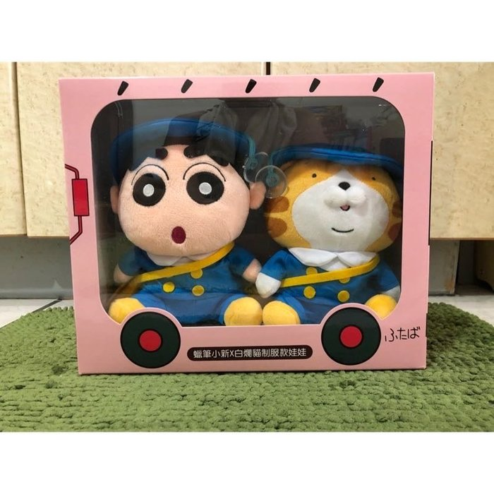【OTOKO Men's Boutique】蠟筆小新x白爛貓987動感樂園:制服款娃娃/幼稚園 /正版