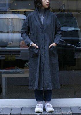 |The Dood Life|日本 BLISS BUNCH  / 千鳥格子起毛感 羽織外套 袍式長罩衫