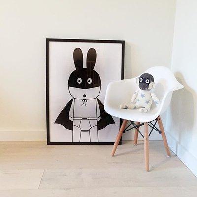 Sis 歐美 框畫 兒童房 掛畫 裝飾 簡約 時尚 嬰兒房 室內設計 IKEA 家飾品 (23*28公分) 台北市