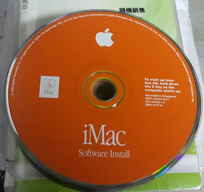 APPLE iMac SOFTWARE INSTALL軟體安裝 ~二手