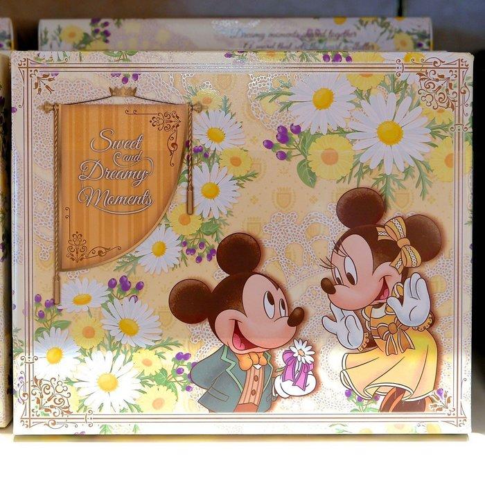 Ariel's Wish預購-日本東京迪士尼限定米奇米妮婚禮小物探房禮伴娘禮春季花園鵝黃色達克瓦茲夾心餅乾法蘭酥喜餅禮盒