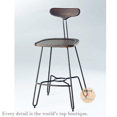 吧台椅 中島椅 工業風 吧椅 吧檯椅 高腳椅 商空用椅 北歐餐椅 椅子 餐桌椅【量大可議】=餐椅大師【005794B5】