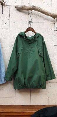 蘋果樹 韓國服飾~Shine七分袖帽衫。下襬鬆緊帶