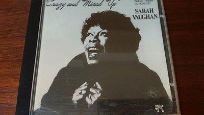 SARAH VAUGHAN CRAZY AND MIXED UP經典發燒錄音名盤德國早期版無ifpi