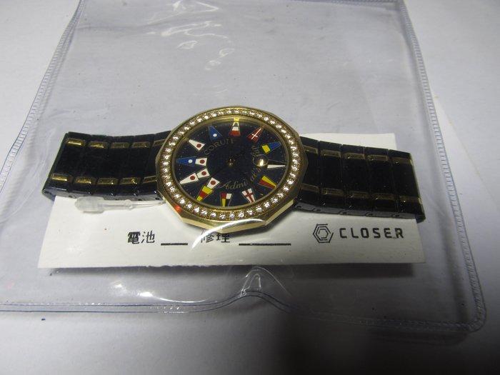 收藏家之26:世界十大名錶 崑崙18K半金 整隻原裝原鑲鑽 ~以蒙專收此款呂收藏 了5~6只 感激不盡收藏家
