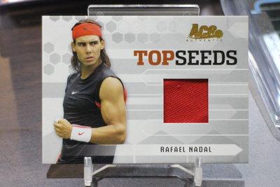 世界球王納達爾 Rafael Nadal ~2005 ACE AUTHENTIC 網球~Top Seeds~球衣卡