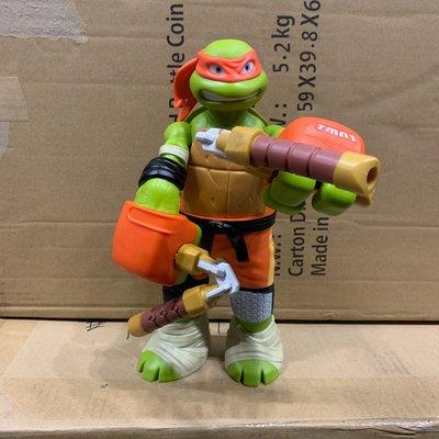 忍者龜 可動玩具 米開朗基羅 27公分12 吋 nickelodeon 製造 tmnt teenage ninja
