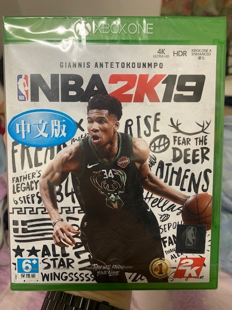 特典 現貨 中文版 XBOX ONE NBA 2K19 另售 惡靈古堡 2 重製版 碧血狂殺2 戰慄深隧:流亡