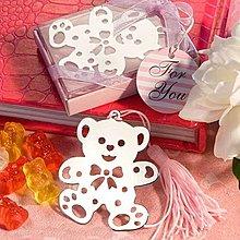 【氣球批發廣場】泰迪熊寶貝書籤 小熊書籤禮盒 姐妹禮 婚禮小物 送客 探房禮