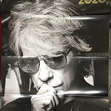 邦喬飛 Bon Jovi 2020【原版折頁海報】全新