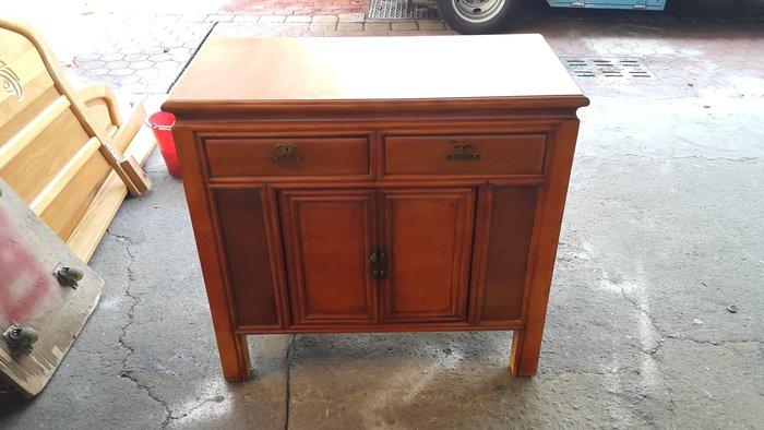 樂居二手家具 全新中古傢俱賣場 A0819AJJB 古早味檜木餐櫃*碗盤收納櫃 電器櫃 置物櫃 二手傢俱買賣電視櫃書櫃