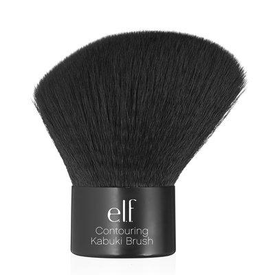【愛來客 】 美國彩妝ELF Contouring Kabuki Brush 斜角腮紅蜜粉刷 專業歌舞伎刷/蘑菇刷