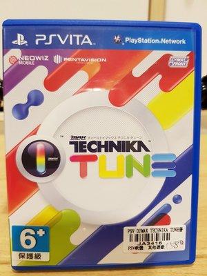 PSVITA PSV Djmax Technika Tune 日文版 二手
