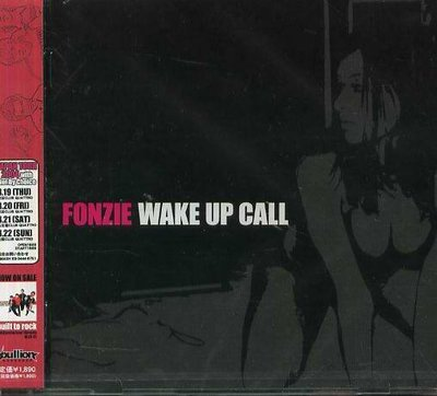 K - Fonzie - Wake Up Call - 日版 - NEW