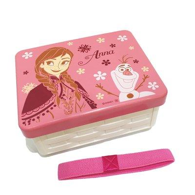 冰雪奇緣 艾莎 ELSA 安娜 ANNA 組合式 便當盒 餐具 正版日本製造進口 * JustGirl *