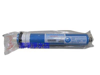 【清淨淨水店】台製Aspring RO膜,材質美國進口(Dowex)台灣加工日造水量足75加崙,NSF。