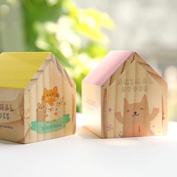 ☜男神閣☞復古木質房子音樂盒女生創意禮品生日禮物diy八音盒閨蜜禮品
