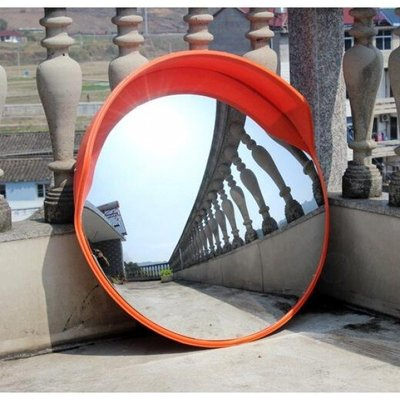現貨 室內外 交通廣角鏡-80cm 道路廣角鏡 凸球面鏡 轉角彎鏡 凹凸鏡 防盜鏡 Korea時尚記