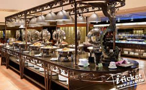 台中清新溫泉飯店新采西餐廳平日午餐券
