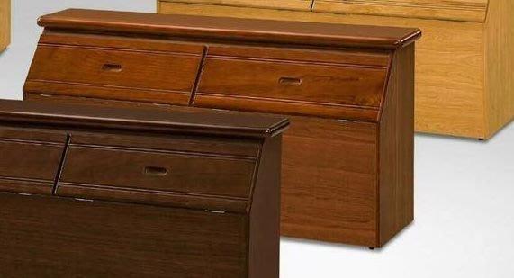 二手家具 台中 樂居全新中古傢俱 OH33017BC*全新溫妮樟木色實木床頭櫃 收納櫃 衣櫥*零碼臥室家具 床墊 床架