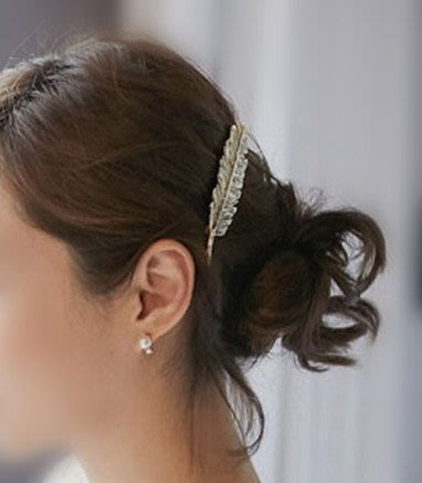 羽毛髮夾/造型夾/髮飾