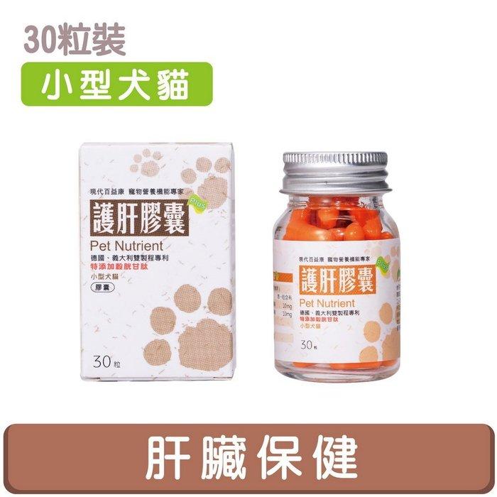 【護肝膠囊】小型犬貓30粒☆現代百益康☆ 肝指數異常、慢急性肝炎病寵保健試用