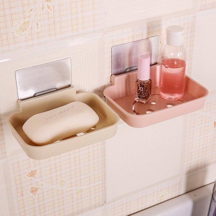 【無痕肥皂盤】笑臉造型香皂盤 免釘免鑽無痕黏貼吸盤肥皂盒 微笑壁掛肥皂架 菜瓜布架☆精品社☆