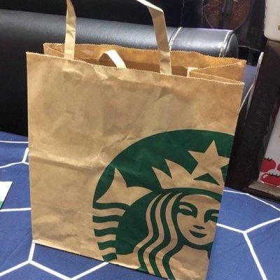 星巴克/STARBUCKS牛皮紙袋/提袋