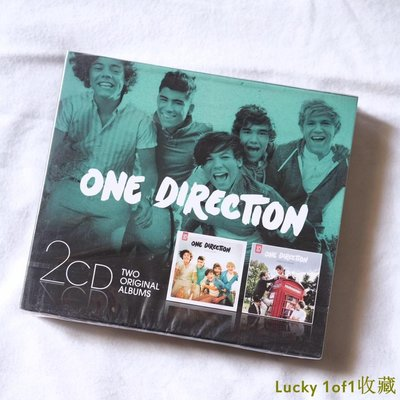 Lucky 1of1收藏現貨 One Direction Up All Night/Take Me Home 2CD