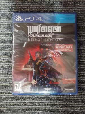 PS4 Wolfenstein Young Blood (deluxe edition)